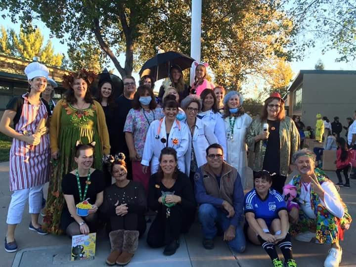 Picture that shows the John Muir Elementary School staff