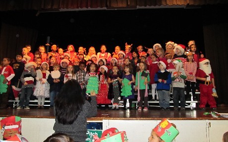 Christmas singing event