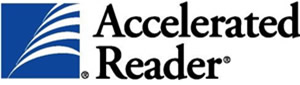 Image that shows a  accelerated reader logo.
