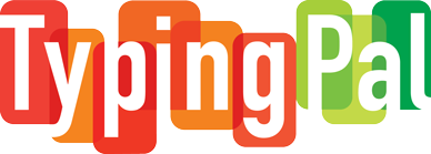 Image showing the  Typing Pal  logo.