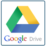 Image displayed of a Google Drive logo.