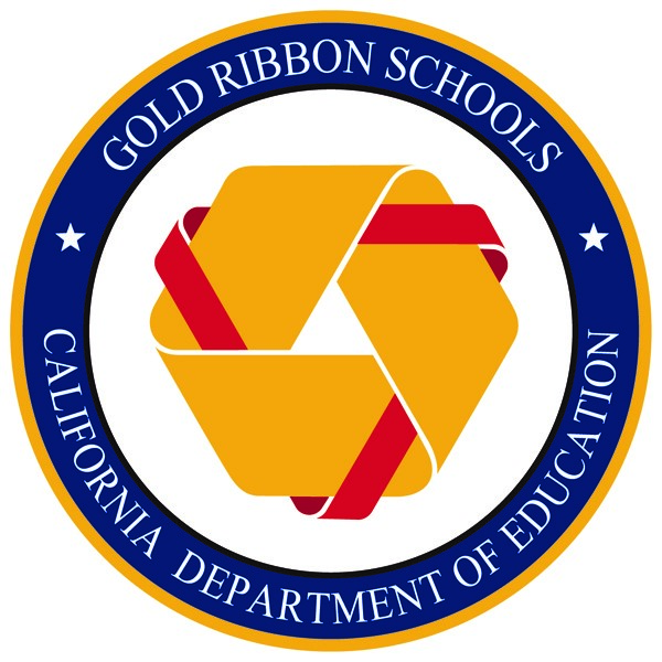 Image of the Gold Ribbon School Seal of Recognition logo