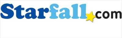 Image that shows a logo of the starfall.com logo.
